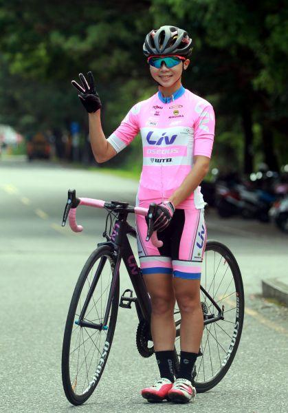 陳姿吟將在2018臺灣自行車登山王挑戰尋求國內女子組三連霸。中華民國自行車騎士協會/提供。