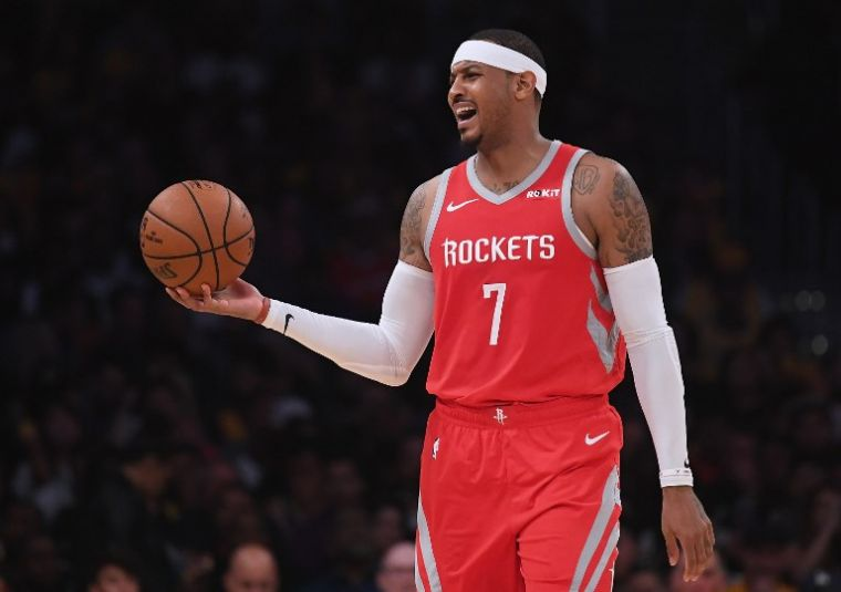 安東尼將重返NBA戰場,拓荒者將簽他來救火。(法新社資料照)