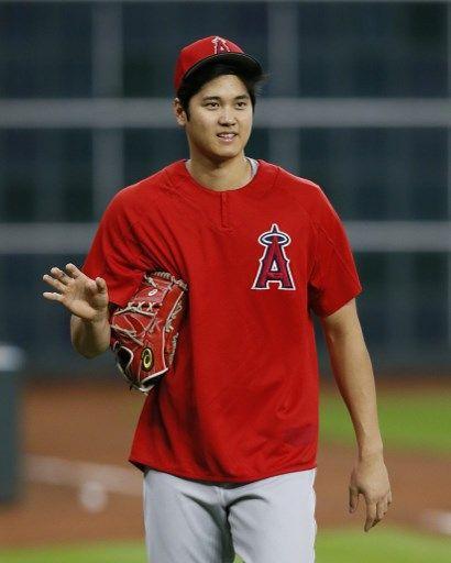 洛杉磯天使大谷翔平今年明星賽會非常忙碌,不僅要參加全壘打大賽,還同時以投手、野手身份入選明星賽。法新社