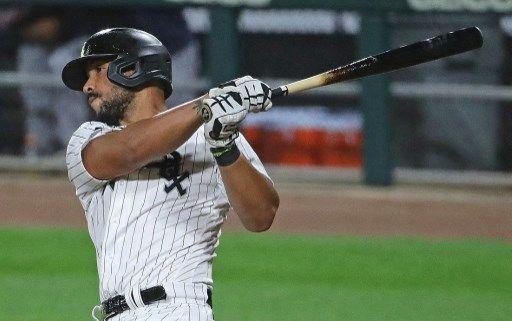 芝加哥白襪當家一壘手阿布瑞尤(Jose Abreu)疑二度染疫。法新社