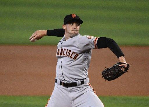 巨人先發投手派出桑其士(Aaron Sanchez),防禦率1.83,今年的狀況相當不錯。法新社