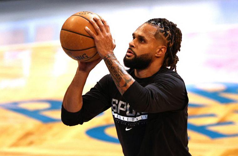 在籃網三巨頭的高曝光率下,米爾斯表示他不受影響。(法新社資料照)