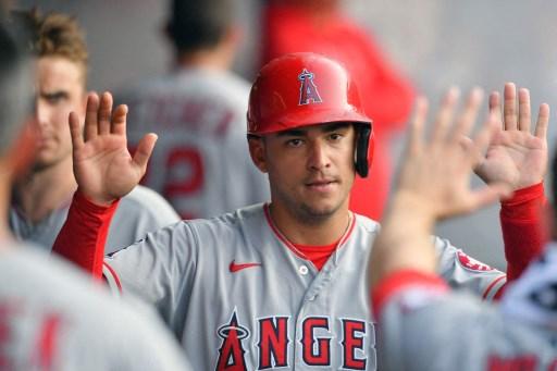 天使突釋出主戰游擊手依格里西亞(Jose Iglesias)。法新社