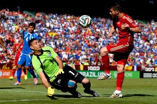 西班牙有為明年世界盃備戰的味道。法新社