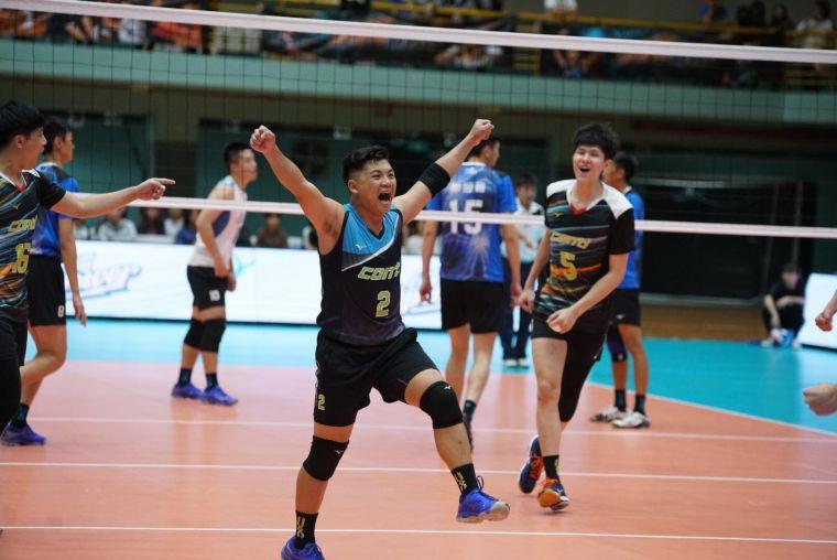 Conti自由球員張昀亮。中華民國排球協會提供