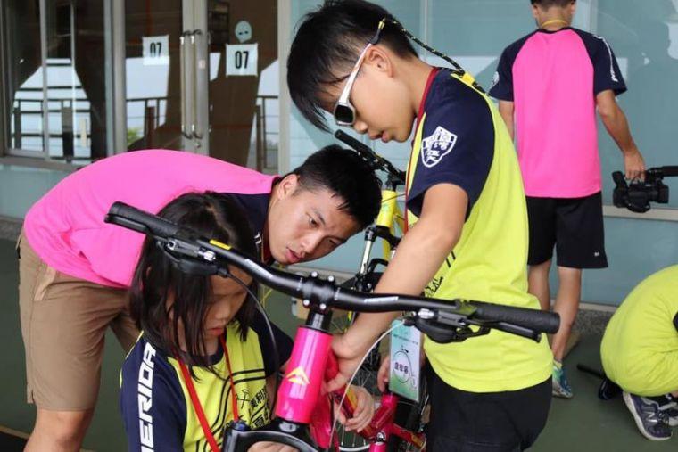臺體大&美利達單車DIY夏令營開始報名。美利達提供