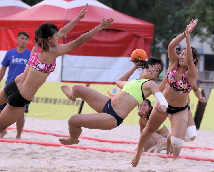 中華B奪下女子組冠軍。大會提供