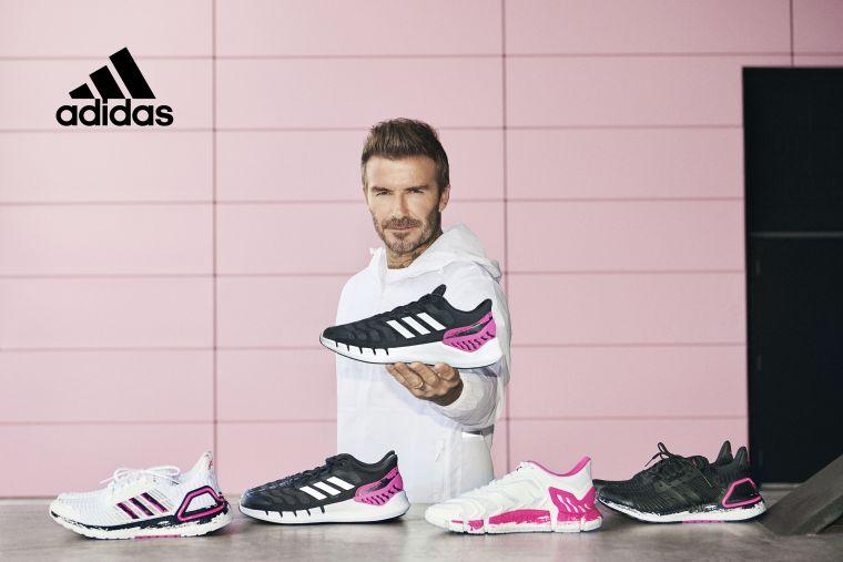 今年盛夏adidas再度攜手代言人David Beckham推出以「邁阿密國際」隊徽為設計靈感的聯名系列鞋款。官方提供