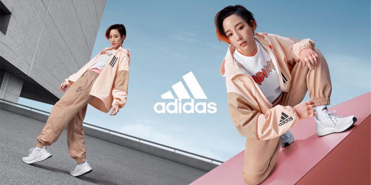 張鈞甯俐落演繹adidas全新2020 Outer Jacket風衣外套,時尚與機能兼具,引領早秋時尚風潮。大官方提供