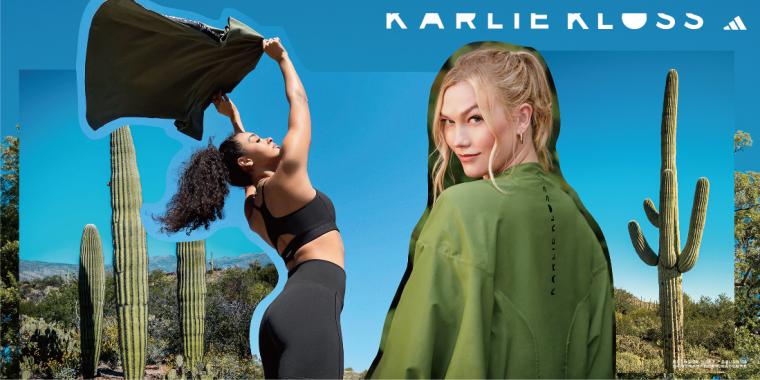 時尚超模Karlie Kloss本月與adidas攜手推出adidas x Karlie Kloss 2021秋冬聯名運動系列,打造兼顧實用機能及友善環境的時尚運動單品。官方提供