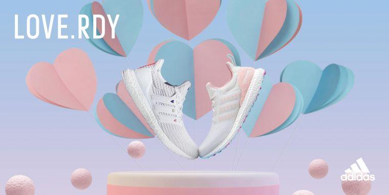 白色情人節將至,adidas Ultraboost DNA情人節限定款跑鞋與系列服飾化身最強助攻,將甜蜜細節注入品牌旗艦跑鞋Ultraboost DNA。官方提供