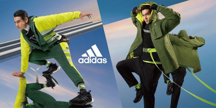 迎接嶄新2021年,adidas帶來全新Future of Sportswear運動風格系列服飾,並邀請代言人彭于晏,率性演繹,展現未來的自信態度。官方提供