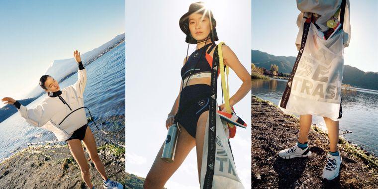 adidas by Stella McCartney發表2021春夏新作BEACH DEFENDER系列,秉持崇尚環保的精神,推出永續、時尚的運動機能系列服飾。官方提供