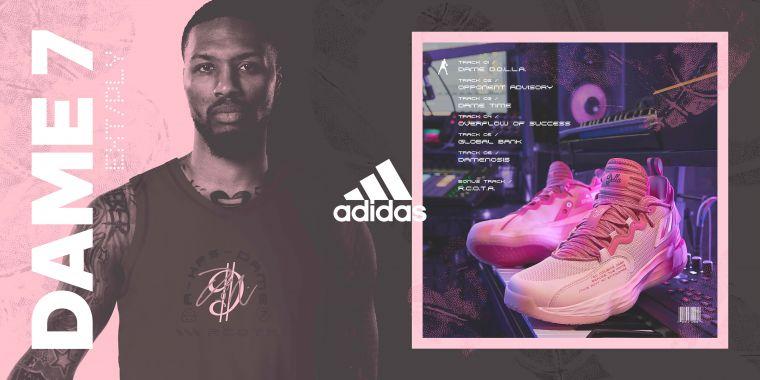 adidas全新Damian Lillard簽名系列戰靴,將Lillard熱愛的饒舌音樂元素融入設計,完美詮釋Damian Lillard在籃球及樂壇的不凡天賦與才華。官方提供