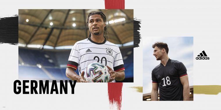 adidas為歐洲強權最具人氣的德國隊,精心設計製作傳奇球衣,助球員專注賽事、踢出最佳表現。官方提供