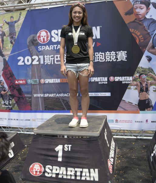 女子冠軍則由去年高雄場也得第一的張菀芳以1小時10分40秒拿下。大會提供