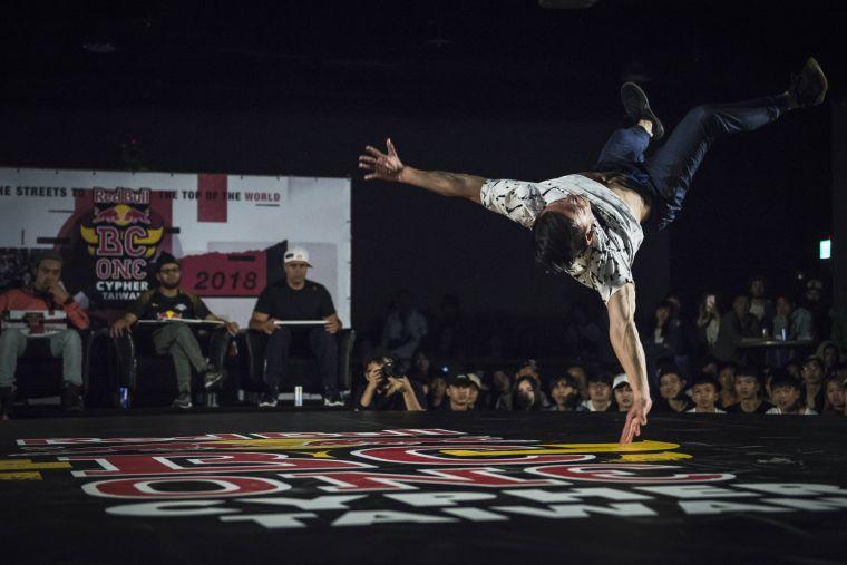 2018 Red Bull BC One 台灣決賽。官方提供