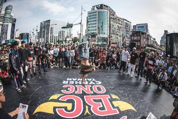 2018 Red Bull BC One 台灣預賽。官方提供