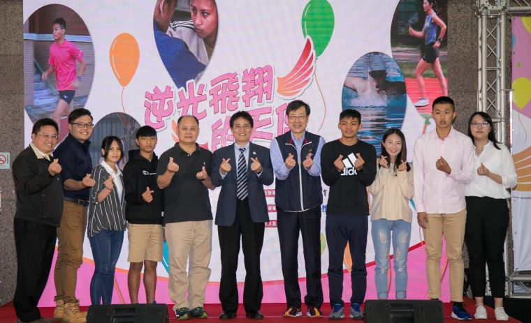 體育署長高俊雄親自出席體育蒲公英計畫記者會。國立體大提供