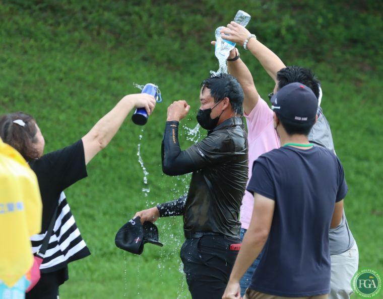 2021肇喜登峰巡迴賽南寶公開賽李玠柏奪冠。鍾豐榮攝影