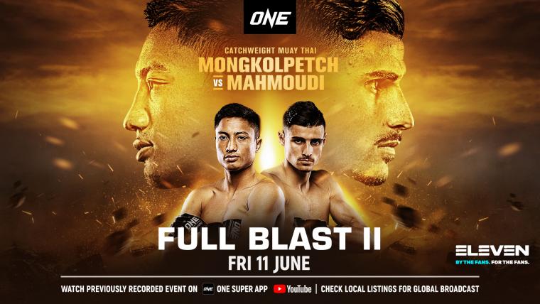 ONE格鬥冠軍賽 6/11晚間9點戰力拳開。官方提供