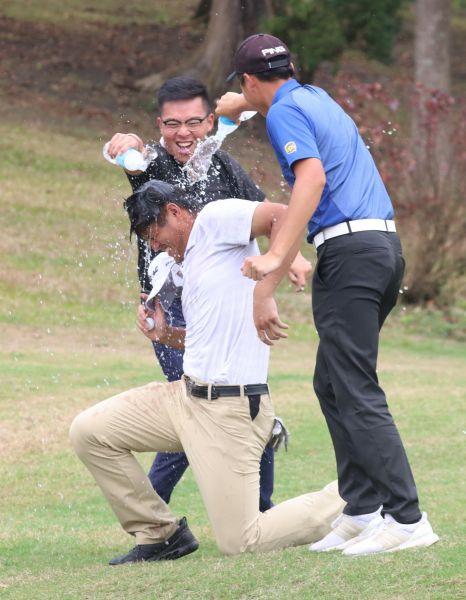 2021ThreeBond南臺灣挑戰賽職業冠軍蔡凱任。鍾豐榮攝影