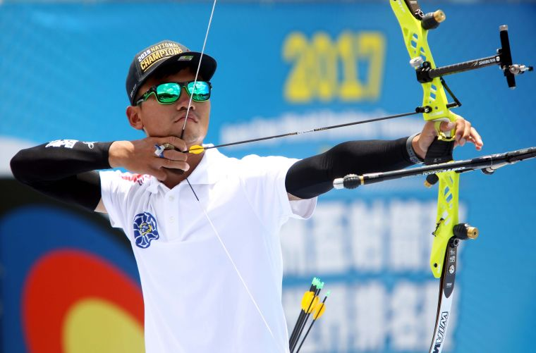 魏均珩是2018亞運男團金牌成員。720armour運動眼鏡/提供。