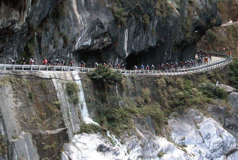 2018臺灣自行車登山王挑戰。中華民國自行車騎士協會/提供。
