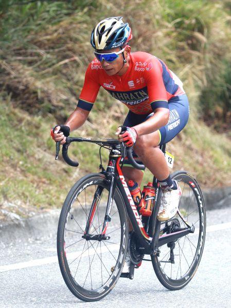 國內第一馮俊凱。中華民國自行車騎士協會/提供。