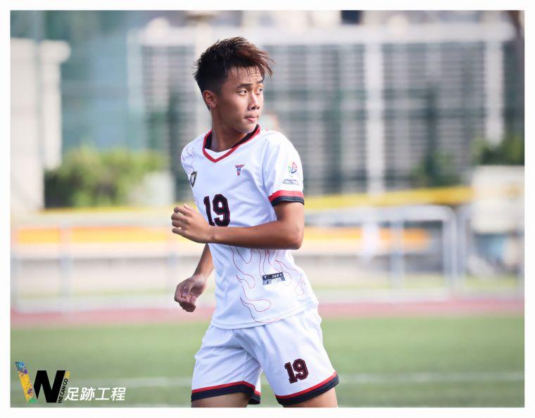新北16歲小將王柏穎射進全隊第4球。摘自Wecango365足跡工程
