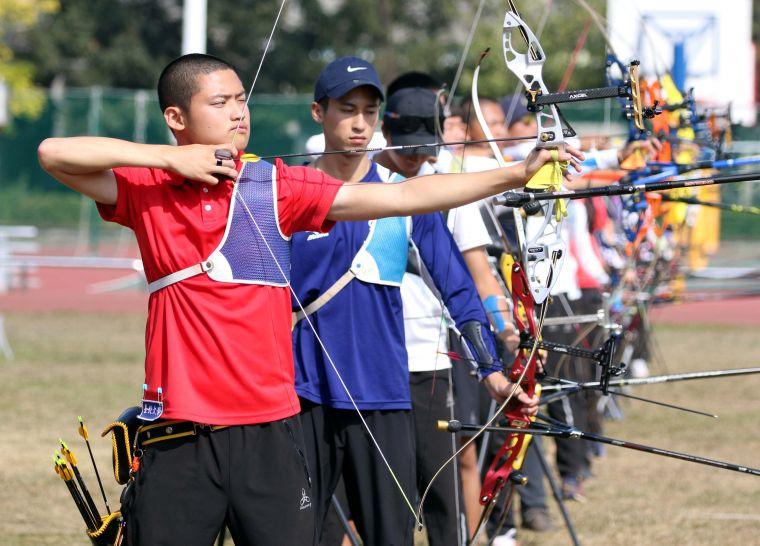 湯智鈞。中華民國射箭協會/提供。