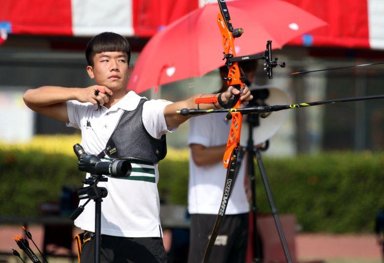 鄧宇成。中華民國射箭協會/提供。