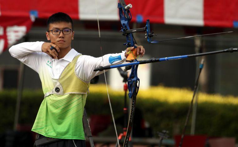 蘇于洋。中華民國射箭協會/提供。
