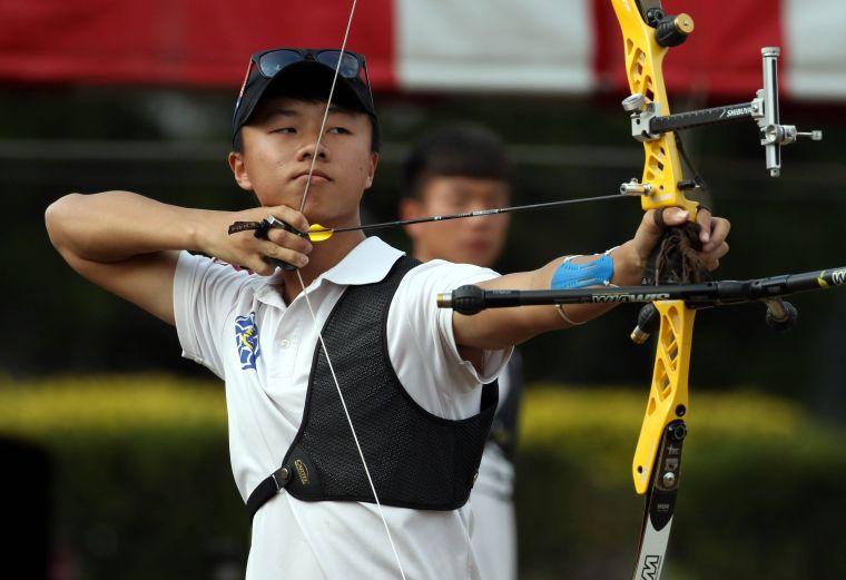 洪晟皓。中華民國射箭協會/提供。
