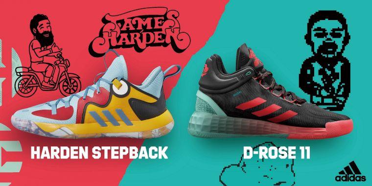 adidas Avatar Pack限定鞋款系列將經典簽名籃球鞋身換上春夏明亮色系,結合球星遊戲、動畫式的趣味視覺,創造耳目一新的搶眼搭配。官方提供