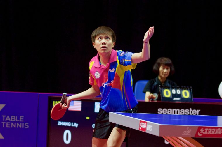 鄭怡靜遺憾在女子世界盃8強止步。摘自國際桌總官網