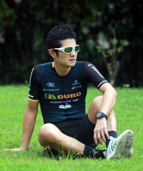 「范老師」范永奕重傷後再出發的故事很勵志。720armour運動眼鏡/提供。