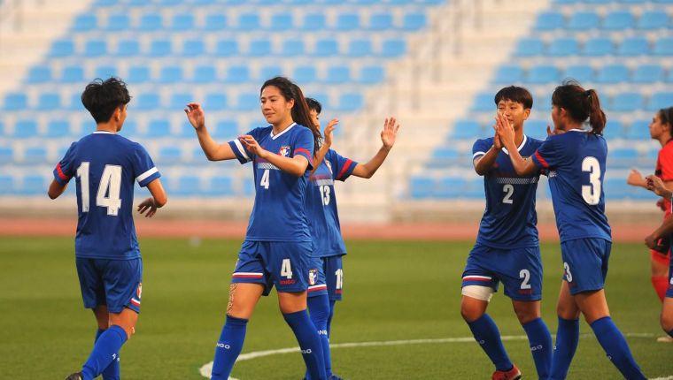 中華女足踢下二連勝。卡達足協提供