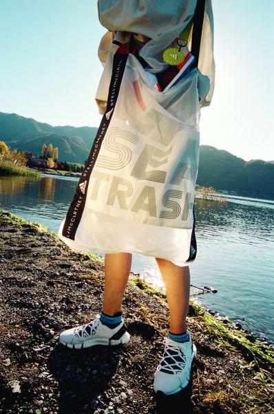 adidas by Stella McCartney BEACH DEFENDER系列推出兼具涼鞋與訓練鞋性能的Climacool Vento鞋款,夏天穿著也能有感降溫。官方提供