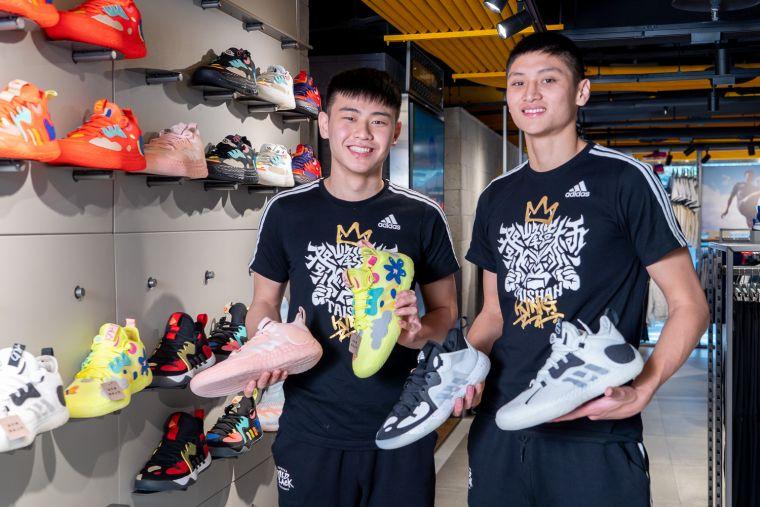 adidas長期贊助泰山高中,透過運動裝備、資源的援助一路陪伴球隊成長茁壯。官方提供