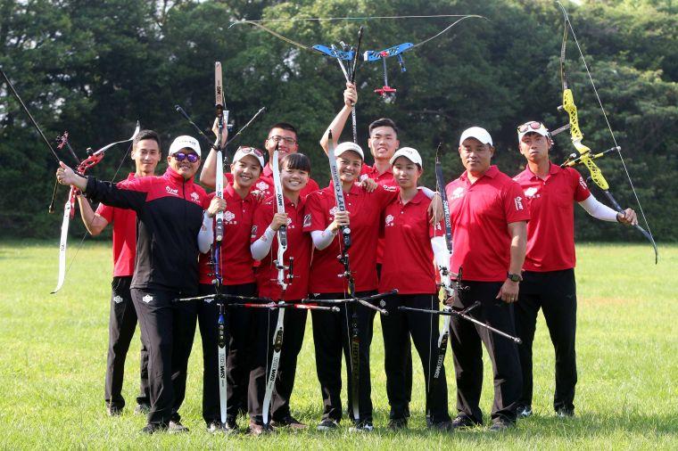 寒舍集團16分續當大哥大。中華企業射箭聯盟/提供。