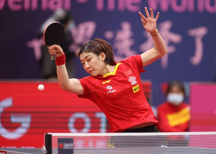 世界球后陳夢首度摘下世界盃冠軍。摘自國際桌球總會官網