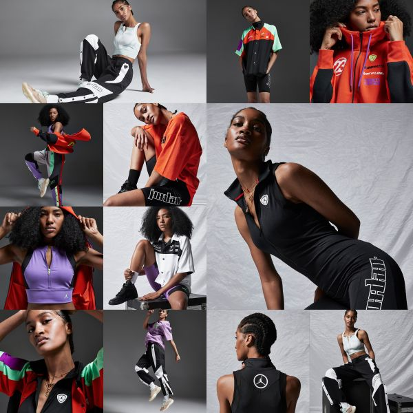 Jordan品牌推出全新女子服飾。官方提供