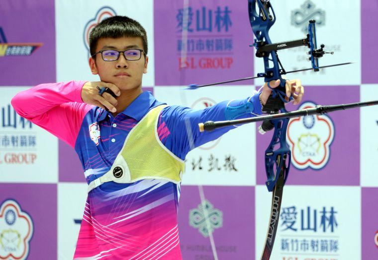 協會青年隊蘇于洋。中華企業射箭聯盟/提供。