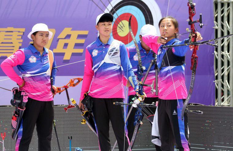 協會青年隊女團。中華企業射箭聯盟/提供。