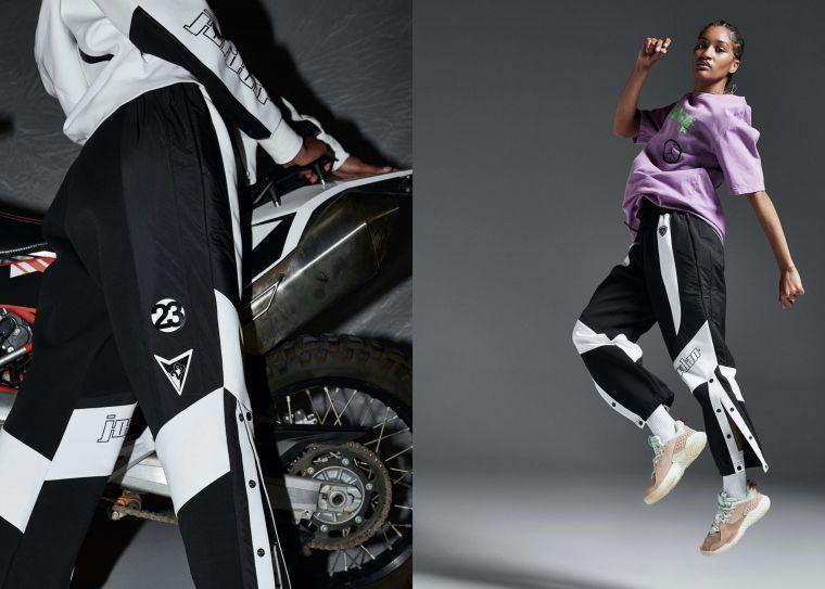 Jordan品牌全新摩托賽車系列女子服飾。官方提供