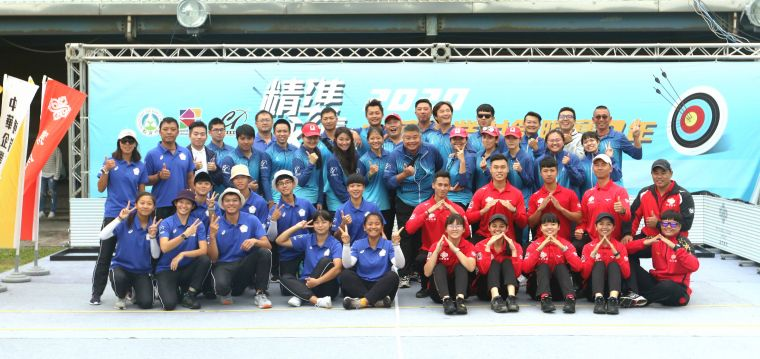 企業射箭聯賽二年圓滿落幕。中華企業射箭聯盟/提供。