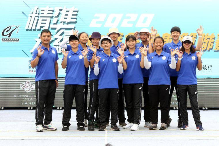 協會青年隊表現也相當出色。中華企業射箭聯盟/提供。