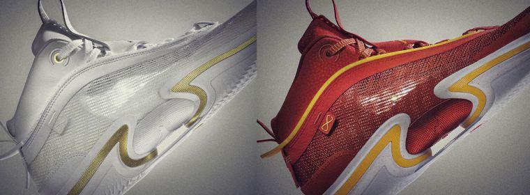 Air Jordan XXXVI的兩款首發配色。官方提供