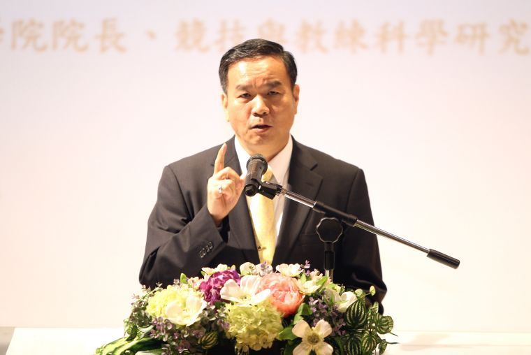 國體大新任校長邱炳坤學經歷豐富完整。林嘉欣/攝影。